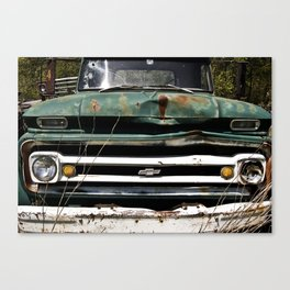 Somethin' bout a truck Canvas Print