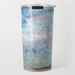 Grunge Ship Travel Mug