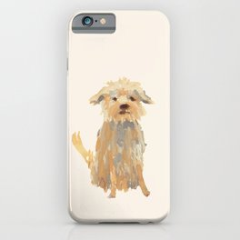 A dog called Jazz iPhone Case