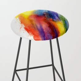 Rainbow Bar Stool