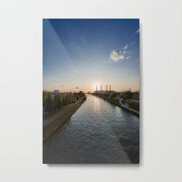 Wolfsburg City Metal Print