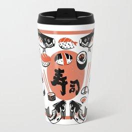 Sushi And Soy Sauce Travel Mug