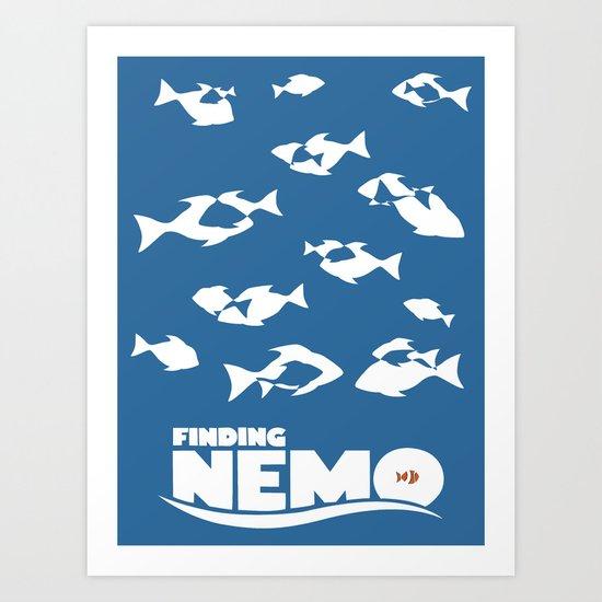 Finding Nemo Art Print