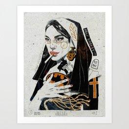 Holy Smokes! Art Print