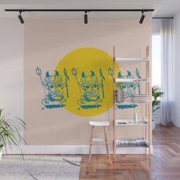 Tiki Dudes Wall Mural