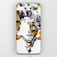 bob dylan iPhone & iPod Skins featuring bob dylan by Chris Shockley - shock schism