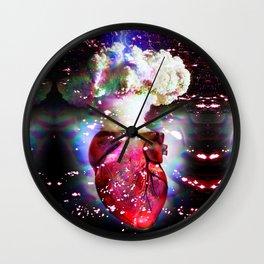 Love Bomb Wall Clock