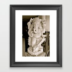 See Peace Framed Art Print