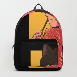 Neko Anime Girl Cat Woman Backpack