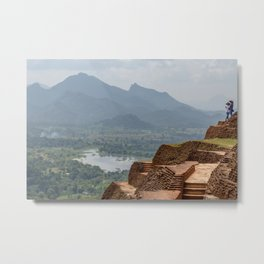 View from the Top of Sigiriya Rock Fortress Metal Print