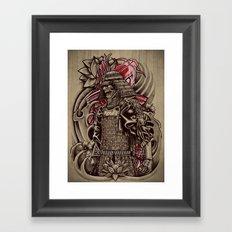 Samurai Koi Framed Art Print