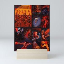 Boxe 12 rounds Mini Art Print