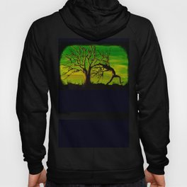 The BIG Escape - Psychedelic Tree Art Hoody