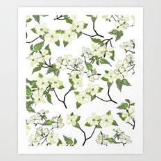 April blooms(Dogwoods) Art Print