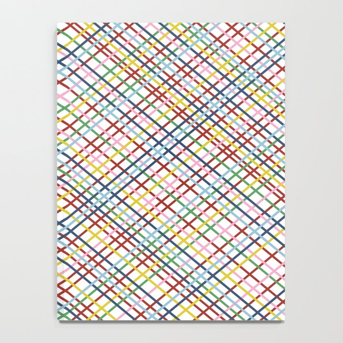 Rainbow Weave 45 Notebook