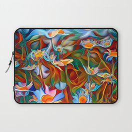 Psychedelic Daises Laptop Sleeve
