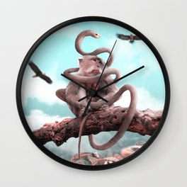 Secutiry - Julien Tabet - Photoshop Artwork Wall Clock