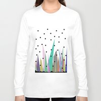 grass Long Sleeve T-shirts featuring Grass by Olivia James