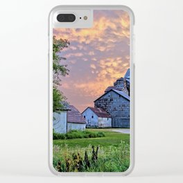 Summer in Oakwood Clear iPhone Case