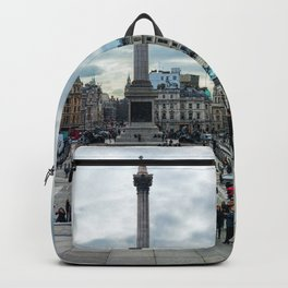 London Trafalgar Square Panorama Backpack