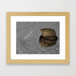 The American Icon Framed Art Print