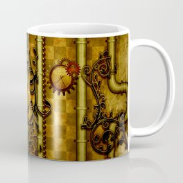 Noble Steampunk design, clocks and gears Coffee Mug
