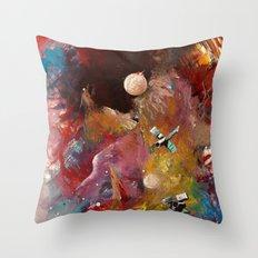 yeryüzünün dışında Throw Pillow