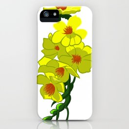 Yellow Apricot Flower (Hoa Mai) iPhone Case
