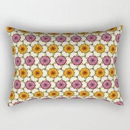 floral blanket Rectangular Pillow