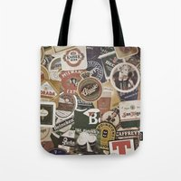 beer Tote Bags featuring Beer by Nicklas Gustafsson