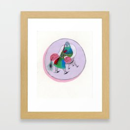 The Handyman Framed Art Print