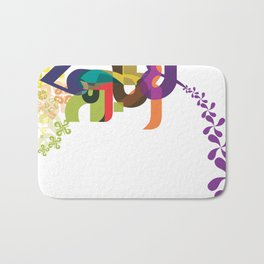 Flowers of Simele Bath Mat