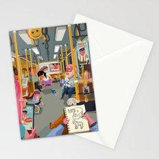 Budapest underground Stationery Cards