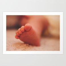 sweet baby toes Art Print