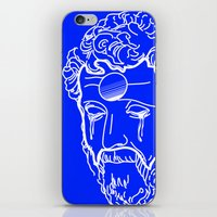 greek iPhone & iPod Skins featuring Greek Cry by Bombarda