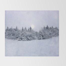 Tree Line Throw Blanket