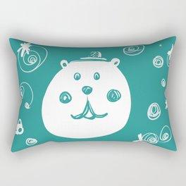 Happy Bear Rectangular Pillow
