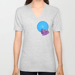 Ghost of Mello Marsh Unisex V-Neck