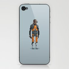 Man With a Crowbar iPhone & iPod Skin
