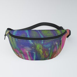 Electric Jellyfish Fanny Pack