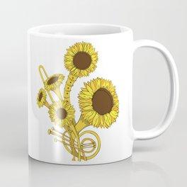 Sunflower Orchestra Coffee Mug