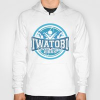 iwatobi Hoodies featuring Iwatobi Team Logo by Cup of June