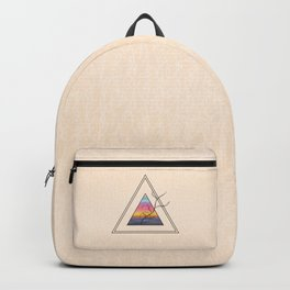 Triangle Sunset Backpack