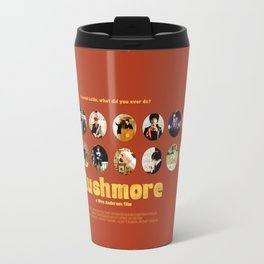 Wes Anderson / Rushmore - The Many Faces of Max Fischer Travel Mug