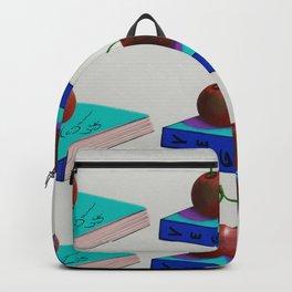 Beautiful illustration of vegan life Backpack