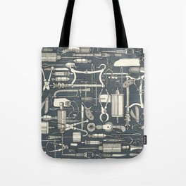 fiendish incisions metal Tote Bag