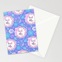 Feminist Killjoy - Beautiful Floral Print Stationery Cards