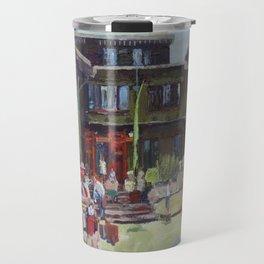 Gamble House, Pasadena, by Maryrose Smyth, 2013 Travel Mug