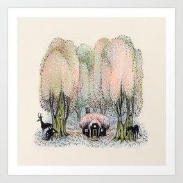 Hidden Dwelling Art Print