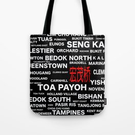 ESTATE OF SINGAPORE - ANG MO KIO Tote Bag